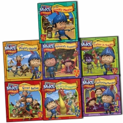 Mike the Knight 7 Books Collection Pack Set by Simon and Schuster