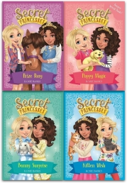 Secret Princesses Collection Rosie Banks 4 Books Set Pack Series 2 (Book 5-8) by Rosie Banks