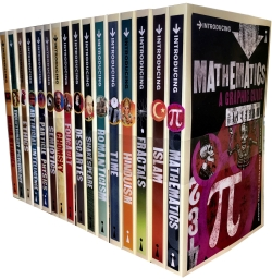 A Graphic Guide Introducing 16 Books Collection Set (Series 3 and 4) Photo