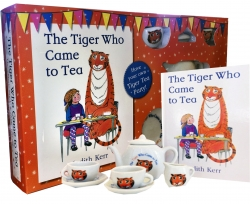 The Tiger Who Came to Tea: Classic Book and Tea Set Gift Pack Photo
