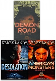 The Demon Road Trilogy Derek Landy 3 Books Collection Set Photo