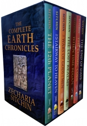 The Complete Earth Chronicles 7 Books Collection Set by Zecharia Sitchin Photo