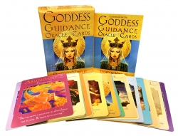 Goddess Guidance Oracle Cards (Doreen Virtue Powerful, Wise, and Loving God) Photo