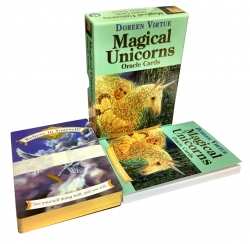 Magical Unicorns Oracle Cards Deck (Doreen Virtue Messages and Guidance Of Life) Photo