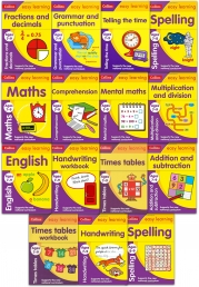Collins Easy Learning KS2: Ages 7-9 Collection 15 Books Set (New National Curriculum) by Collins Easy Learning