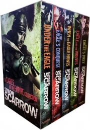 Simon Scarrow Eagles of the Empire Series 5 Books Collection Set Photo