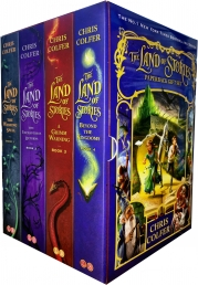 Land of Stories Chirs Colfer Collection 4 Books Box Set (Wishing Spell, Grim Warning, Enchantress Returns) Photo