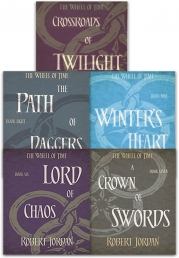 Robert Jordan The Wheel of Time Collection 5 Books Set Series 2 (Book 6-10) by Robert Jordan