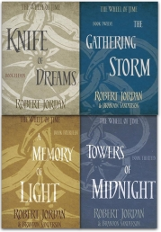 Robert Jordan The Wheel of Time Collection 4 Books Set Series 3 (Book 11-14) Photo