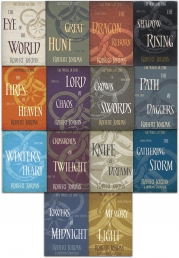 Robert Jordan The Wheel of Time Series Collection 14 Books Set Pack (Book 1-14) Photo