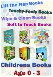 Snazal Pre-school Books (0-3) Range (children's books, baby books, early reading books, board books)