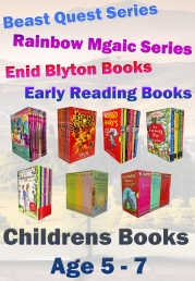 Snazal Kids Books, Age 5, - Age 7, (books for 5, 6, and 7 year olds, Beast quest, Rainbow magic, Blyton, children stories)