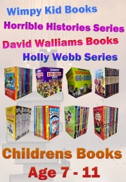 Snazal Books, Age 7, - Age 11, (books for 7 - 11 year old, Wimpy kid, Horrible Histories, David Walliam, Roald Dahl) by Books Age 7-11