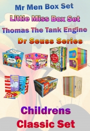 Childrens Classic Books Set, (Dr Seuss, Mr Men, Little Miss, Thomas Tank Engine, Roald Dahl, Peter Rabbit) by Kids Classics