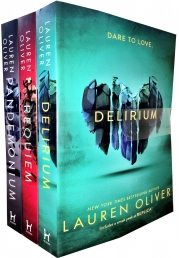 Lauren Oliver Delirium Trilogy 3 Books Collection Set Photo