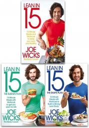 Lean in 15 Collection Joe Wicks 3 Books Set (Lean in 15 - The Shift Plan, Lean in 15 - The Shape Plan, Lean in 15 - The Sustain Plan) Photo