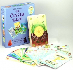 The Crystal Tarot Cards Collection Box Gift Set Mind Body Spirit Read Photo