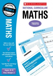 Maths Test Year 4: Ages 8-9 Key Stage 2 (National Curriculum SATs Tests) by Paul Hollin Photo