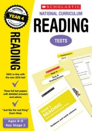 Reading Test Year 4: Ages 8-9, Key Stage 2 (National Curriculum SATs Tests) by Catherine Casey Photo