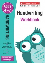 Handwriting Reception-Year 2 Workbook (Scholastic English Skills) Photo