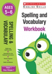 Spelling and Vocabulary Workbook (Year 1) (Scholastic English Skills) Photo