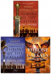 Harry Sidebottom Throne of the Caesars Series Collection 3 Books Set Photo