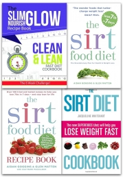 Sirtfood Diet Collection 4 Books Set (The Sirt Food Diet, The Sirtfood Diet Recipe Book, The Sirt Diet Cookbook, Clean & Lean Fast Diet Cookbook) Photo