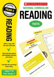 Reading Test Year 3: Ages 7-8, Key Stage 2 (National Curriculum SATs Tests) by Catherine Casey Photo