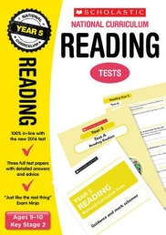 Reading Test Year 5: Ages 9-10, Key Stage 2 (National Curriculum SATs Tests) by Lesley Fletcher, Graham Fletcher Photo