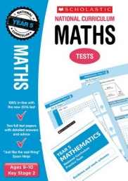 Maths Test Year 5: Ages 9-10 Key Stage 2 (National Curriculum SATs Tests) by Paul Hollin Photo
