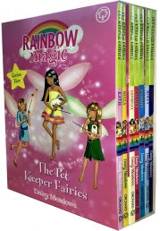 Rainbow Magic Series 5 Pet Keeper Fairies Collection 7 Books Box Set (Books 29-35) Photo