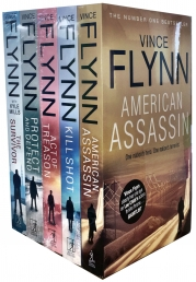The Mitch Rapp Series Vince Flynn 5 Books Collection Set (Act of Treason, Protect and Defend, American Assassin, Kill Shot, The Survivor) Photo