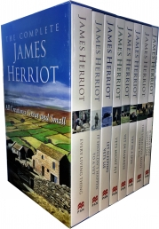 The Complete James Herriot Collection 8 Books Box Set (1-8) By James Herriot Photo