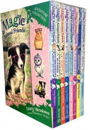 Magic Animal Friends Series 3 and 4 Collection 8 Books Box Set (9 to 16) by Daisy Meadows Photo