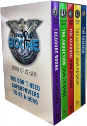 John Grisham Theodore Boone Series Collection 5 Books Box  Set Photo