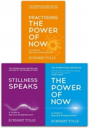 Eckhart Tolle The Power of Now Collection 3 Books Set (The Power of Now, Stillness Speaks, Practising The Power Of Now) Photo