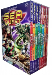 Sea Quest Series 5 and 6 Collection Adam Blade 8 Books Box Set (Book 17-24) Photo