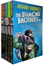 Diamond Brothers Detective Agency Collection By Anthony Horowitz 5 Books Set Photo