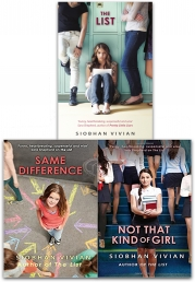 Siobhan Vivian Collection 3 Books Set (The List, Same Difference, Not That Kind Of Girl ) Photo