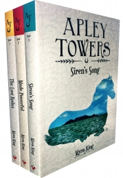 Apley Towers 3 Books Collection Set by Myra King (Books 1-3) (The Lost Kodas, Made Powerful, Sirens Song) by Myra King (Author), Subrata Mahajan (Illustrator)