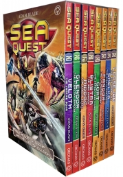 Sea Quest Series 7 and 8 Collection Adam Blade 8 Books Box Set (Book 25-32) Photo