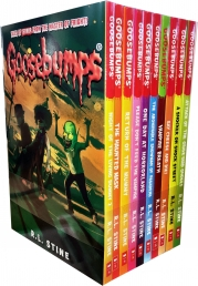 Goosebumps Horrorland Series 10 Books Collection Set by R L Stine Classic Covers Set 2 Photo