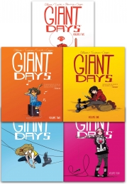 Giant Days Volume 1-5 Collection 5 Books Set By John Allison Photo