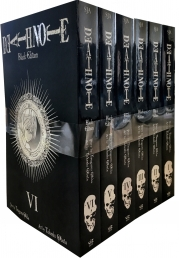 Death Note Black Edition Volume 1-6 Collection 6 Books Set by Tsugumi Ohba Photo