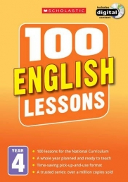 100 English Lessons: Year 4 (100 Lessons - New Curriculum) Photo