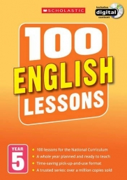 100 English Lessons: Year 5 (100 Lessons - New Curriculum) Photo