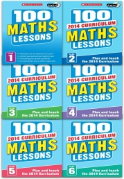 100 Maths Lessons: Full Pack Photo
