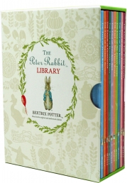 The Peter Rabbit Library 10 Books Collection Box Set Gift Pack (Coloured Jacket) Photo