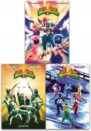 Mighty Morphin Power Rangers Volume 1-3 Collection 3 Books Set Photo