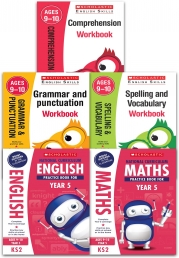 Scholastic National Curriculum and English Skills: Year 5 Key Stage 2 Ages 9-10 Collection 5 Books Set Photo